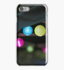 Small Paper Lanterns iPhone Case/Skin