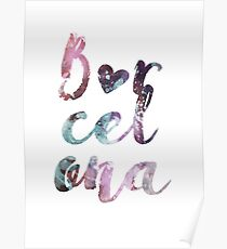 Barcelona in my heart Poster