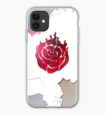 Vinilo o funda para iPhone Una rosa Borken