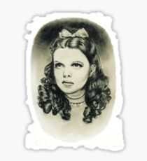 Dorothy wizard of oz judy garland Sticker