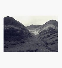 Waterfall in the Scottish Highlands Photographic Print