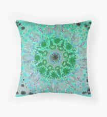 Bali-mint Throw Pillow