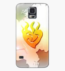 Yang's flame Case/Skin for Samsung Galaxy