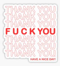 Thanks For Nothing! Sticker
