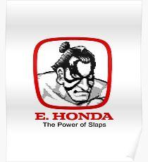 E. Honda - Street Fighter -  The Power of Slaps Poster