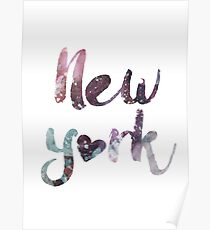 New York in my heart Poster