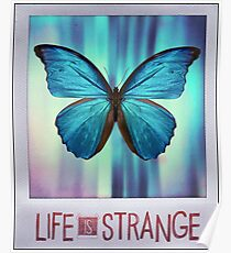 Life is Strange Butterfly Photo Poster