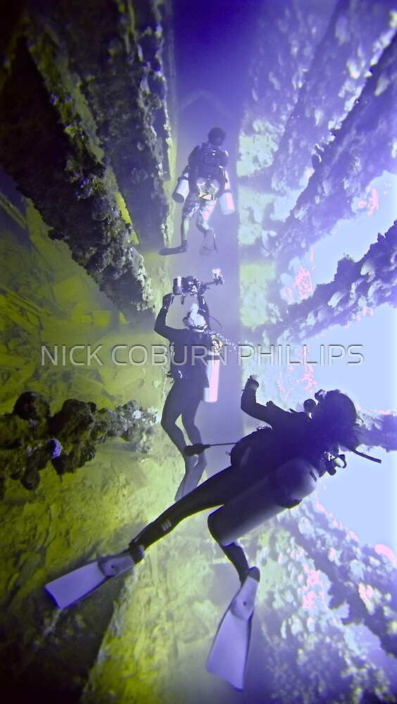 DEEP WRECK PERSPECTIVE by NICK COBURN PHILLIPS