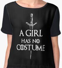 A Girl Has No Costume Chiffon Top