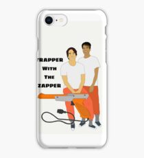 Trapper With The Zapper iPhone Case/Skin