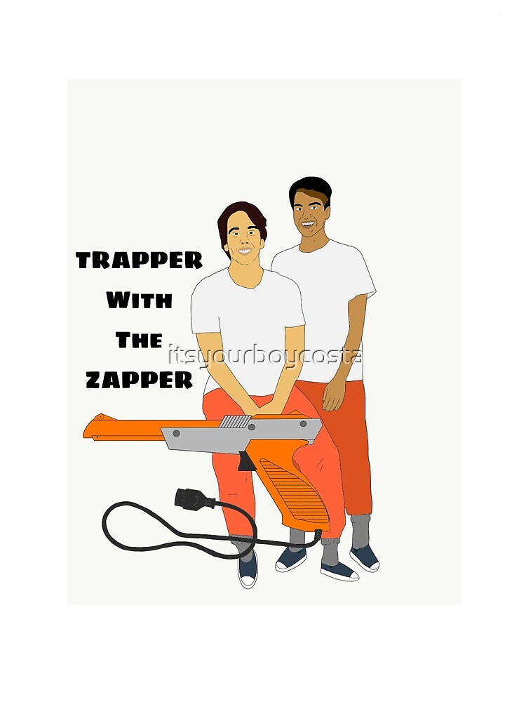 Trapper With The Zapper by itsyourboycosta