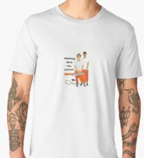 Trapper With The Zapper Men's Premium T-Shirt