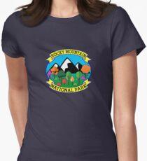 ROCKY MOUNTAIN NATIONAL PARK COLORADO HAPPY CAMPER CAMPING HIKING CLIMBING T-Shirt