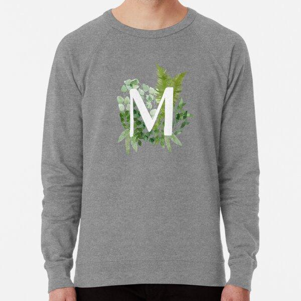 Floral letter M Lightweight Sweatshirt