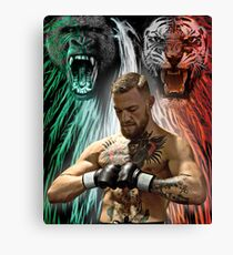 Notorious Conon McGregor Beasts Inside Canvas Print