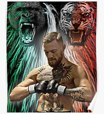 Notorious Conor McGregor Beasts Inside Poster