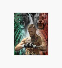 Notorious Conor McGregor Beasts Inside Art Board