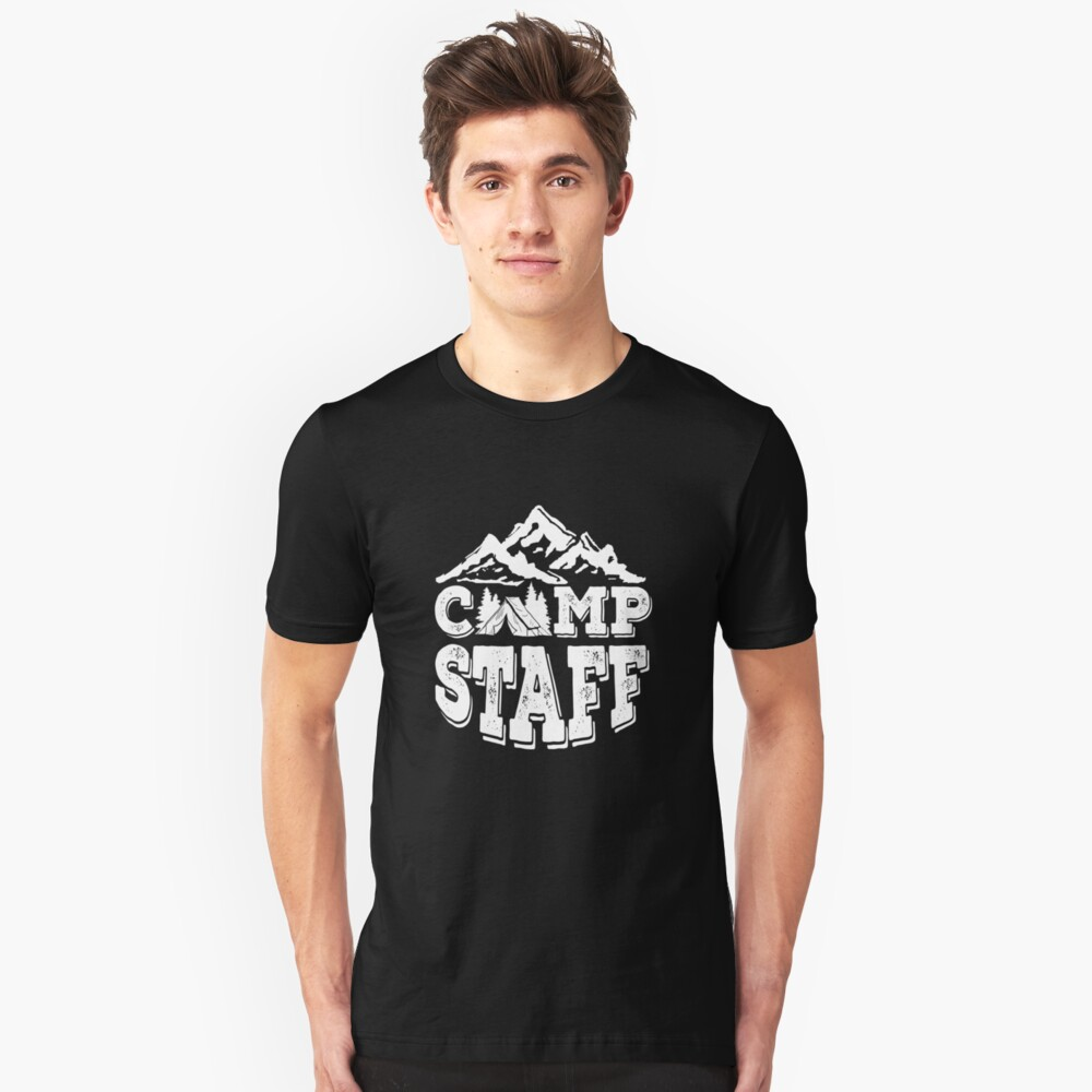 Camp Staff Summer Camp Counselor Unisex T-Shirt Front
