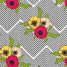 Geometric Garden #redbubble #decor #buyart by designdn