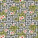 Geometric Jungle #redbubble #decor #buyart by designdn