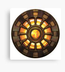 Steampunk Arc reactor Canvas Print