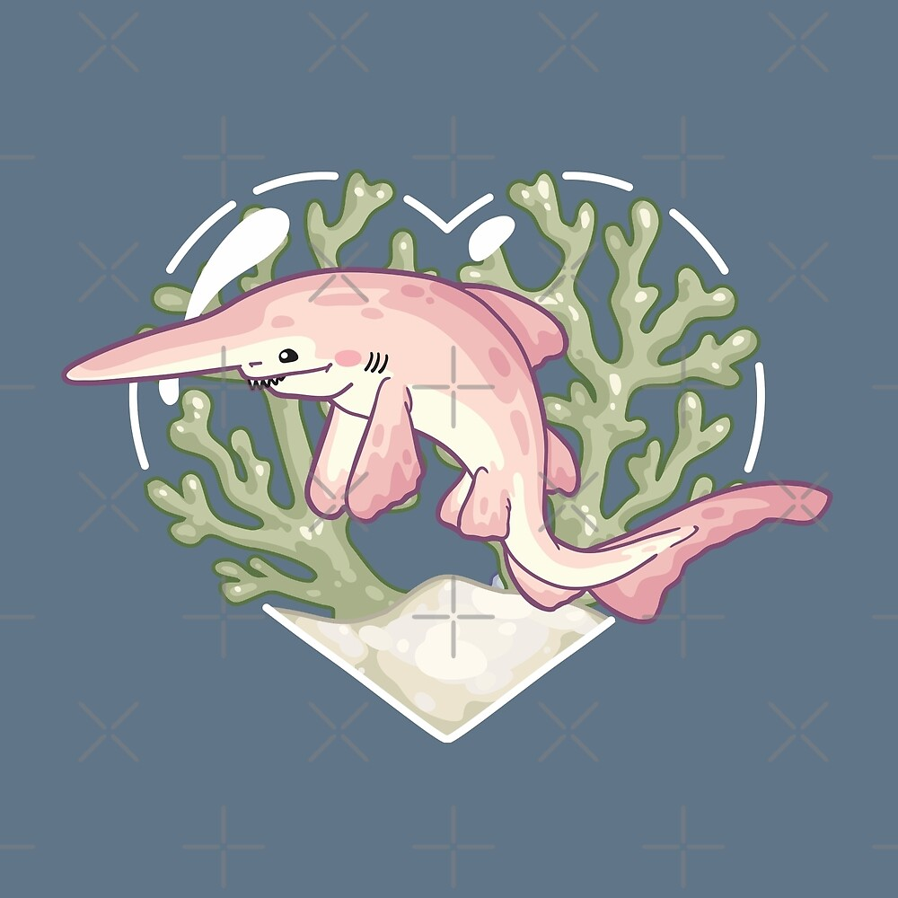 GOBBLE, the Goblin Shark by bytesizetreas