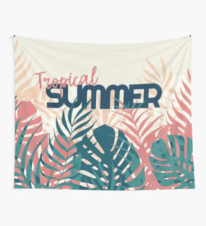 Tropical Summer #redbubble #decor #buyart Wall Tapestry