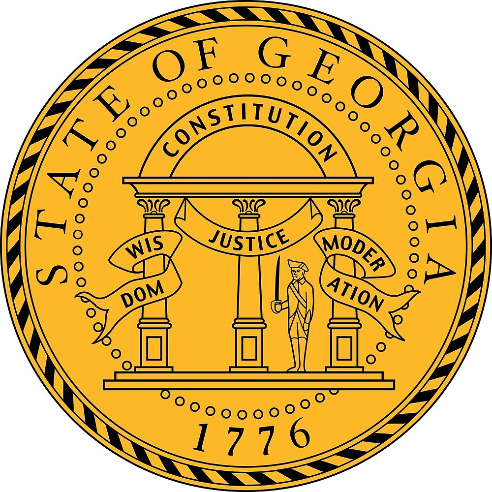 Seal of Georgia  by ofmany