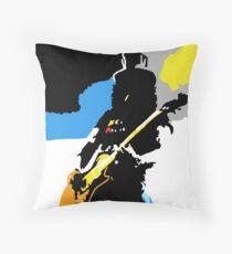 Slash Pop Art Throw Pillow