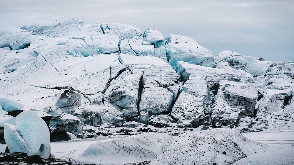 Glacial World of Iceland - Landscape Photography by Michael Schauer