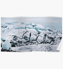 Glacial World of Iceland - Landscape Photography Poster