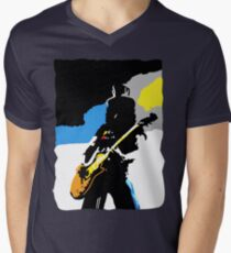 Slash Pop Art Men's V-Neck T-Shirt