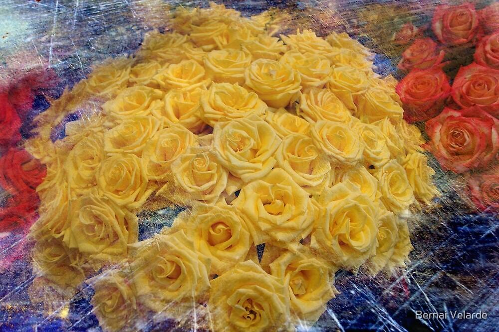 Yellow Roses by Bernai Velarde PCE 3309