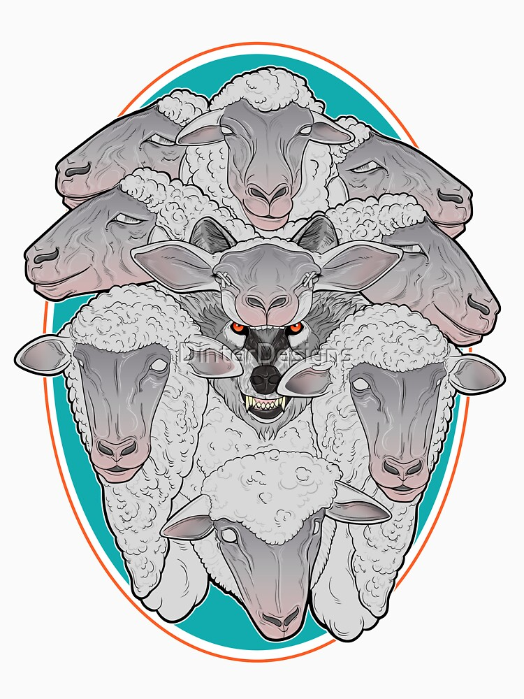 Wolf in Sheep's Clothing by DinterDesigns
