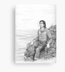 Roland of Gilead - The Gunslinger Canvas Print