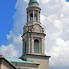 The Steeple Of Washington's National City Christian Church by Cora Wandel