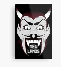 New Lands Metal Print