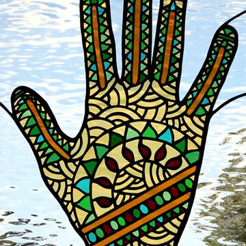 Mehndi Hand (2) by neilsglass
