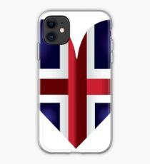 Heart of Iceland iPhone Case