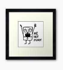 Spongebob: Doodlebob Framed Print
