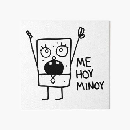 [ORIGINAL] Spongebob: Doodlebob Art Board Print