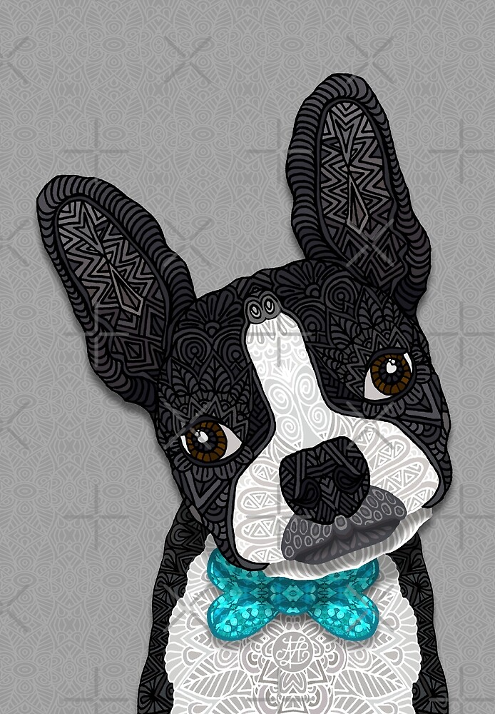 Bow Tie Boston by artlovepassion