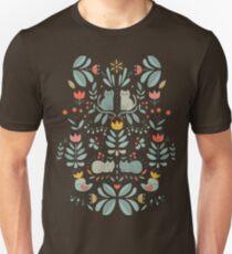 Swedish Folk Cats T-Shirt