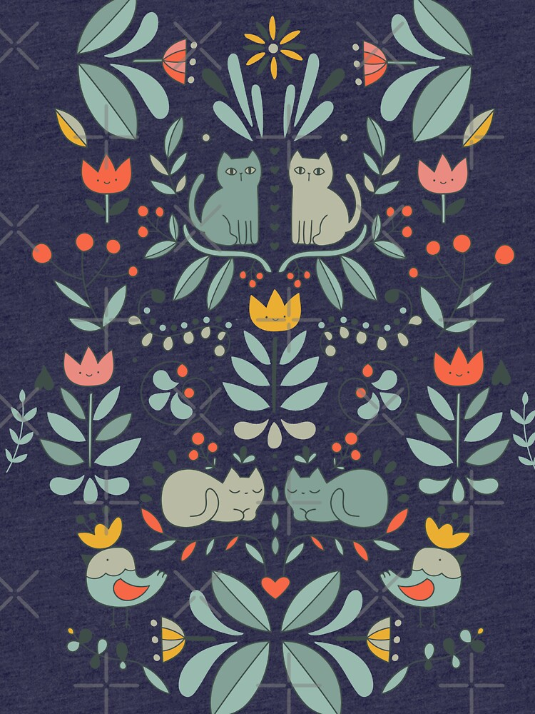 Swedish Folk Cats by kostolom3000