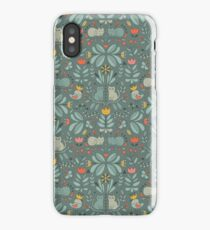 Swedish Folk Cats iPhone Case/Skin