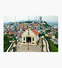 Santa Ana Chapel, Guayaquil, Ecuador Photographic Print