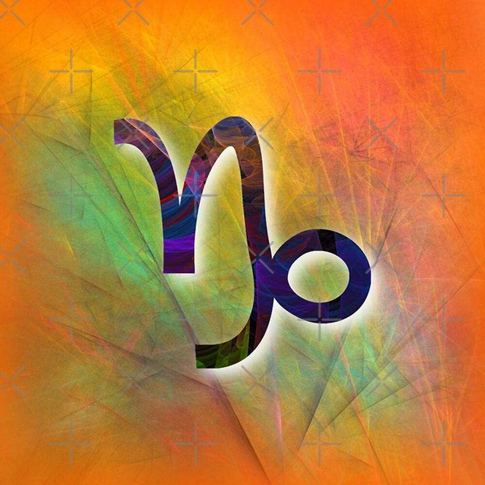 Capricorn birth sign CS011-10 by DuckyRubin