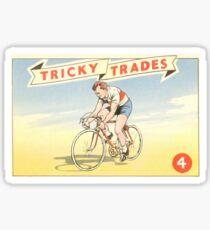 Vintage Retro Cycling Tour de France Sticker