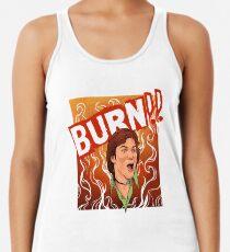 Burn! Racerback Tank Top