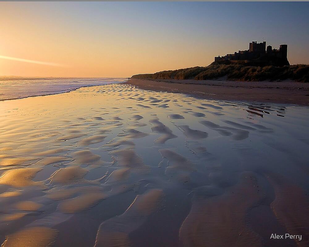 Bamburgh Sunrise by Alex Perry